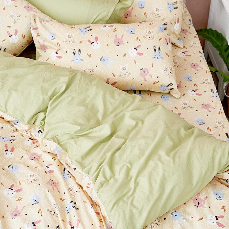 床包  /  雙人-100%精梳棉【妮妮公主】含兩件枕套 戀家小舖 好窩生活節  台灣製 1