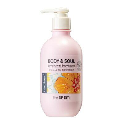 ~即期良品~韓國the SAEM Body   Soul 夏之戀潤膚乳~300ml Bod