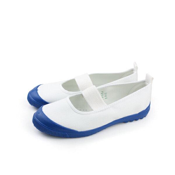 MoonStar 日本製 室內鞋 藍色/白色 童鞋 MS015 no729