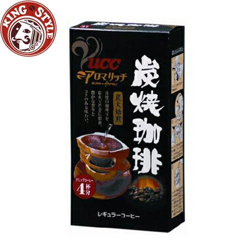 金時代書香咖啡【UCC】炭燒便利沖咖啡 7g*4入
