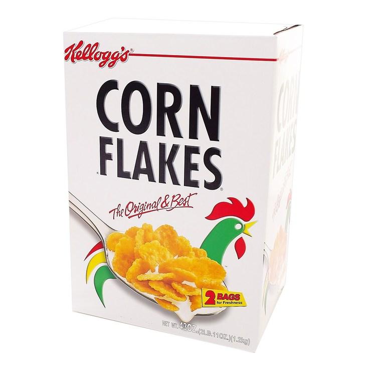 家樂氏原味玉米早餐脆片每包600公克X 2包入