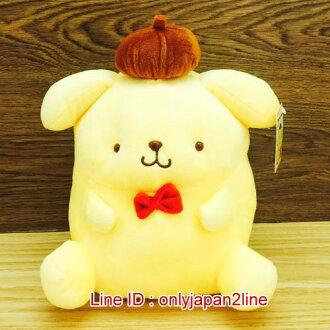 【真愛日本】17010500003坐娃-10吋紅領結  三麗鷗家族 布丁狗  抱枕 娃娃 公仔 正品