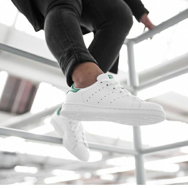 ★下殺$2680★【BEETLE PLUS】ADIDAS ORIGINALS STAN SMITH 白綠 愛迪達 復古 休閒鞋 余文樂 女鞋 M20605 4