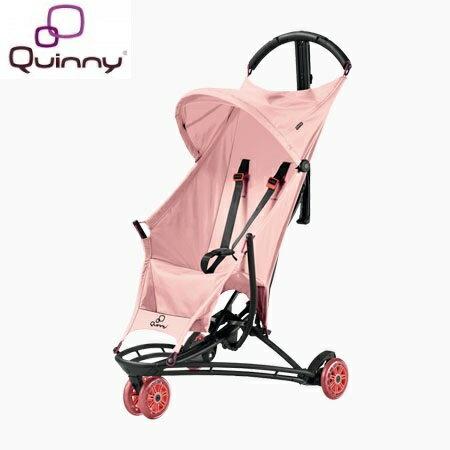 荷蘭【Quinny】Yezz 超輕量三輪休旅車-Miami粉 0