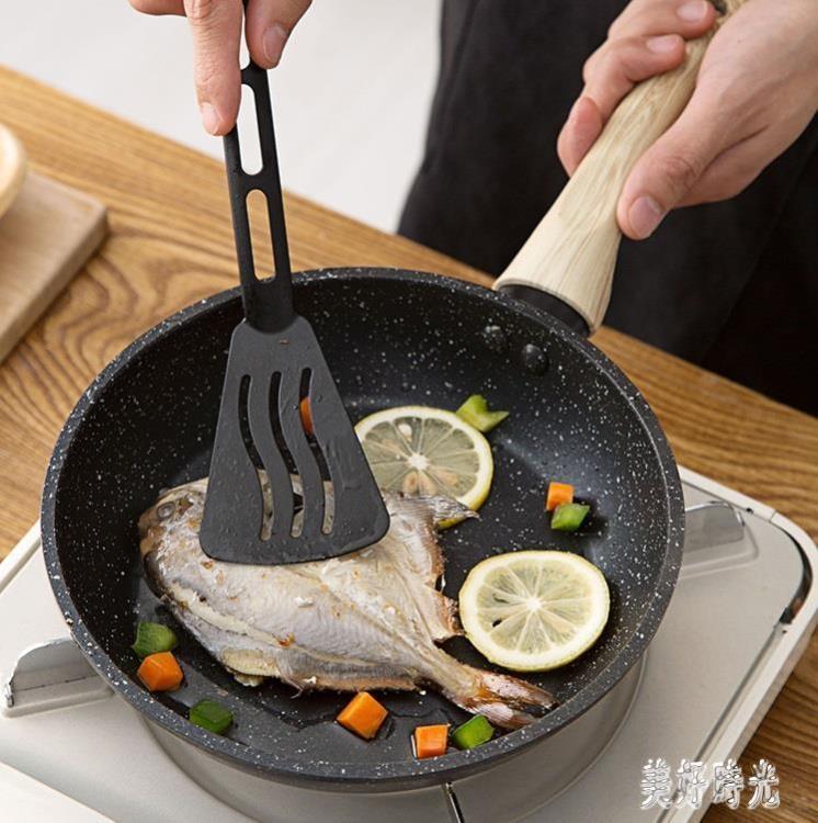 麥飯石小煎鍋 不粘鍋平底鍋 家用電磁爐煎蛋鍋煎餅鍋牛排