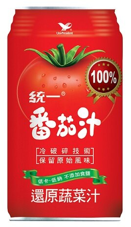 統一蕃茄汁340ml(24入/箱)-2箱【合迷雅好物商城】