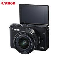 Canon佳能到Canon EOS M10單鏡組EF-M 15-45mm IS STM - 黑【愛買】