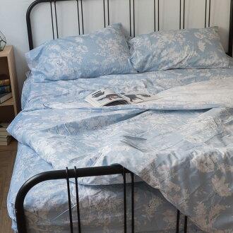 藍色花嫁 極日風純棉床組 床包/被套/兩用被/枕套 單品賣場 100%復古純棉