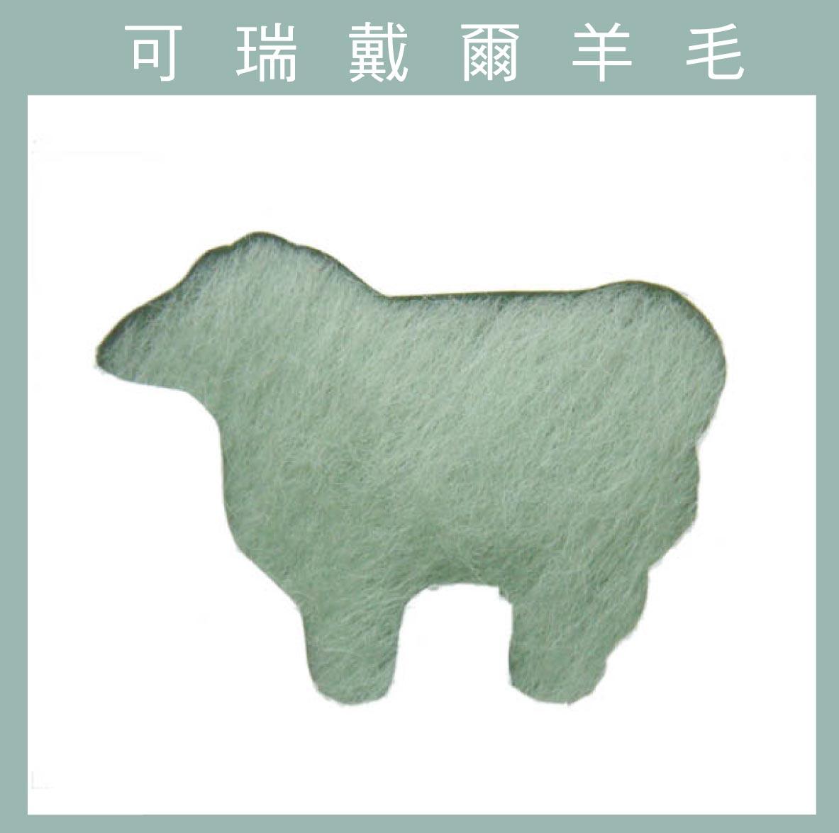 紐西蘭ASHFORD-可瑞戴爾羊毛[10克]C45夢幻綠