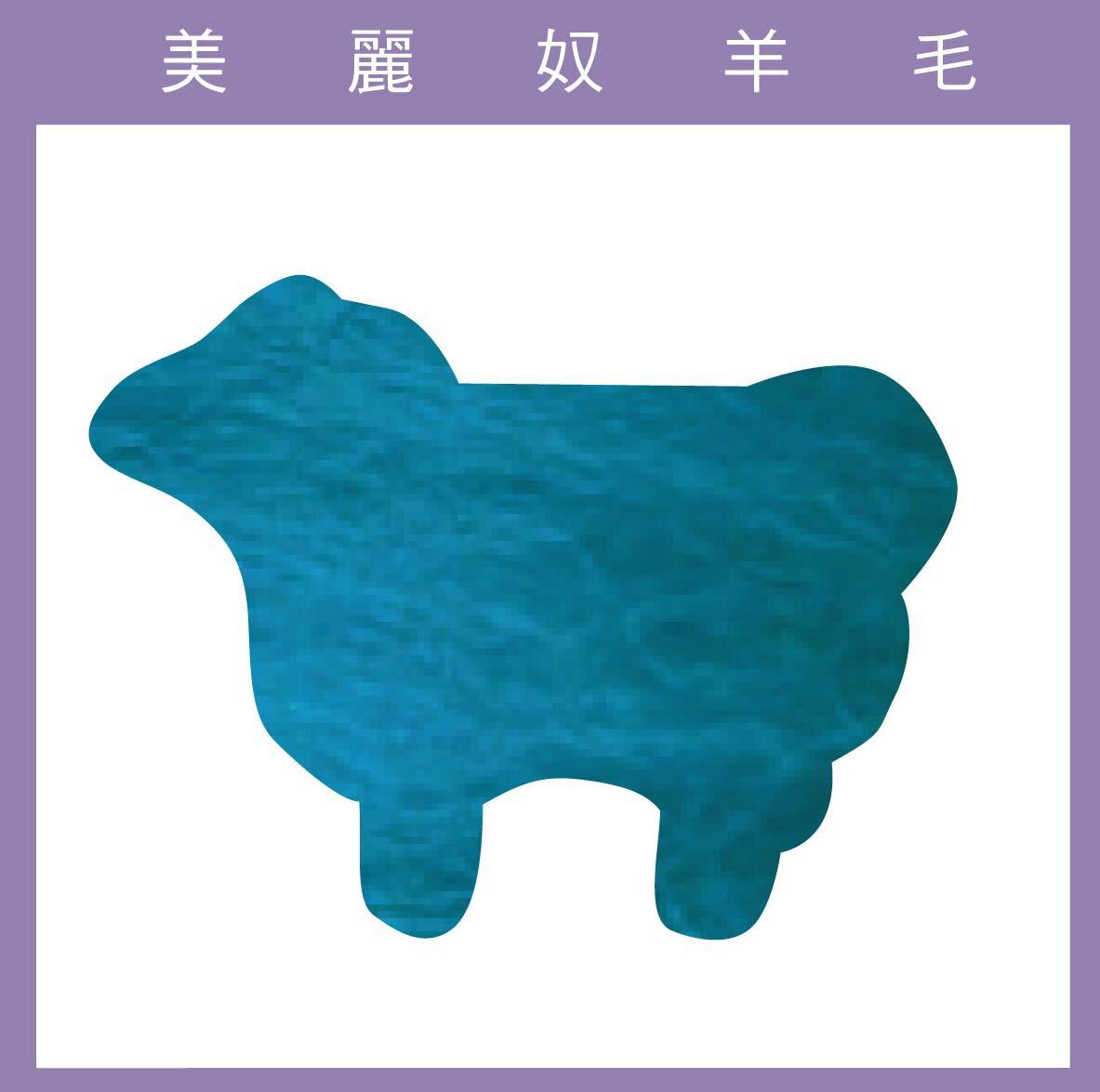 紐西蘭ASHFORD~美麗奴羊毛 M38青綠色