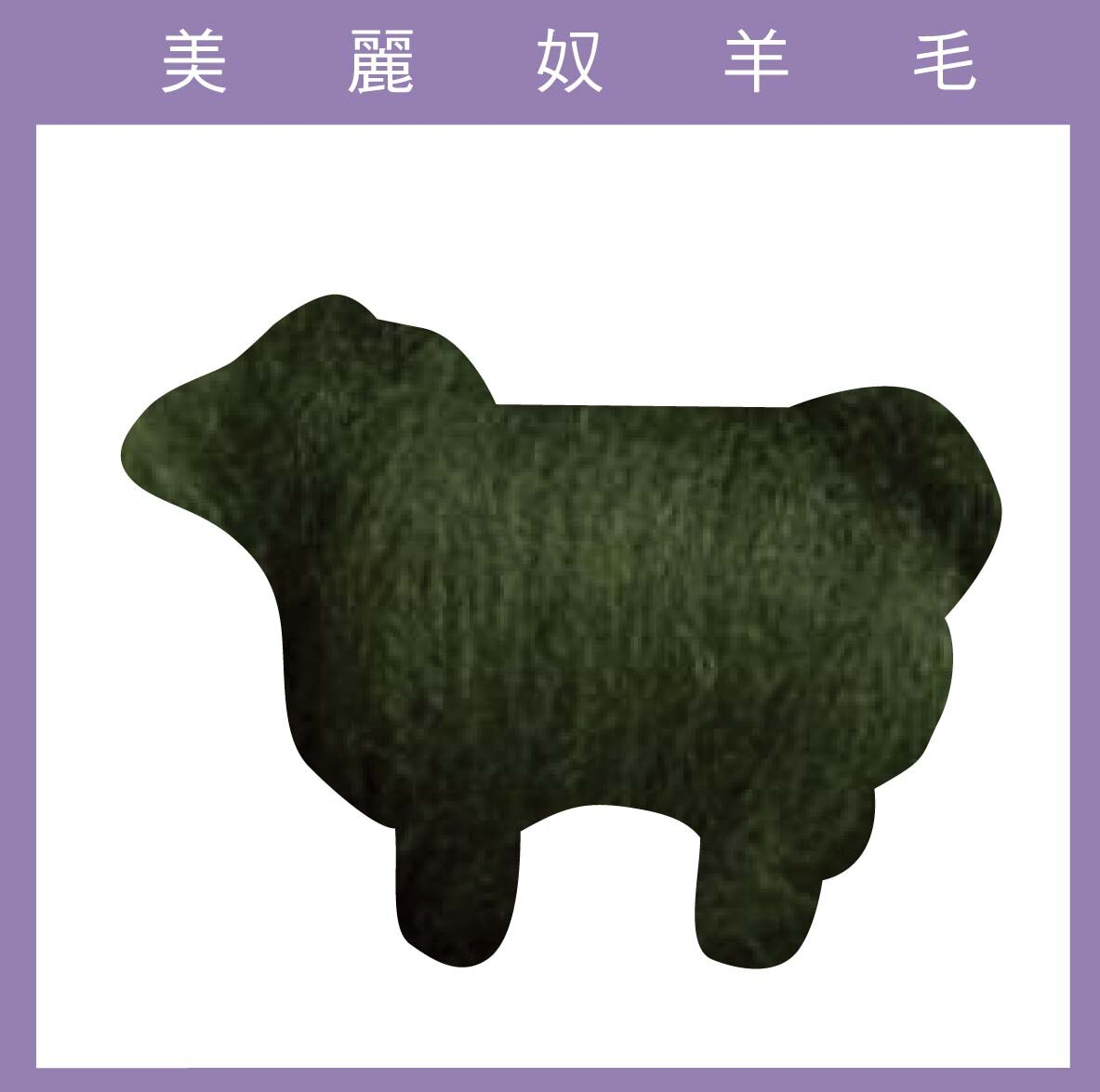 紐西蘭ASHFORD-美麗奴羊毛 M42蕨葉色