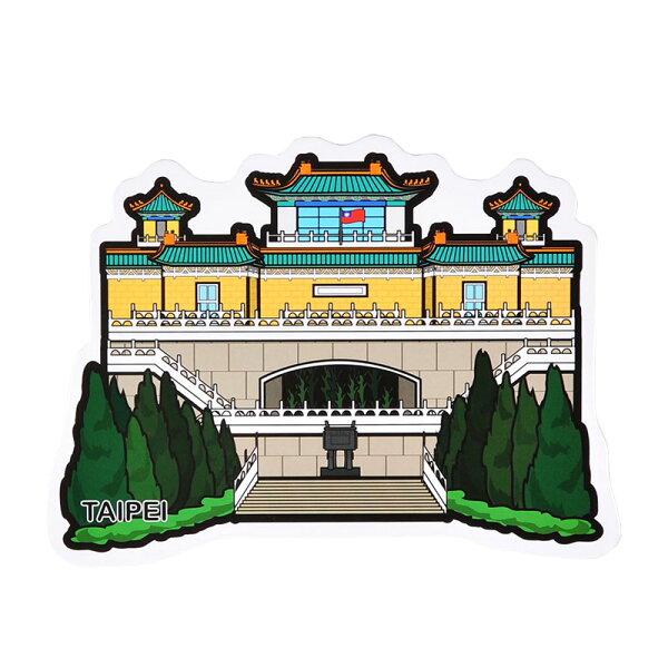 MILU台灣文創好禮店:【MILUDESIGN】+PostCard>>台灣旅行明信片-台北故宮明信片(TheNationalPalaceMuseum)
