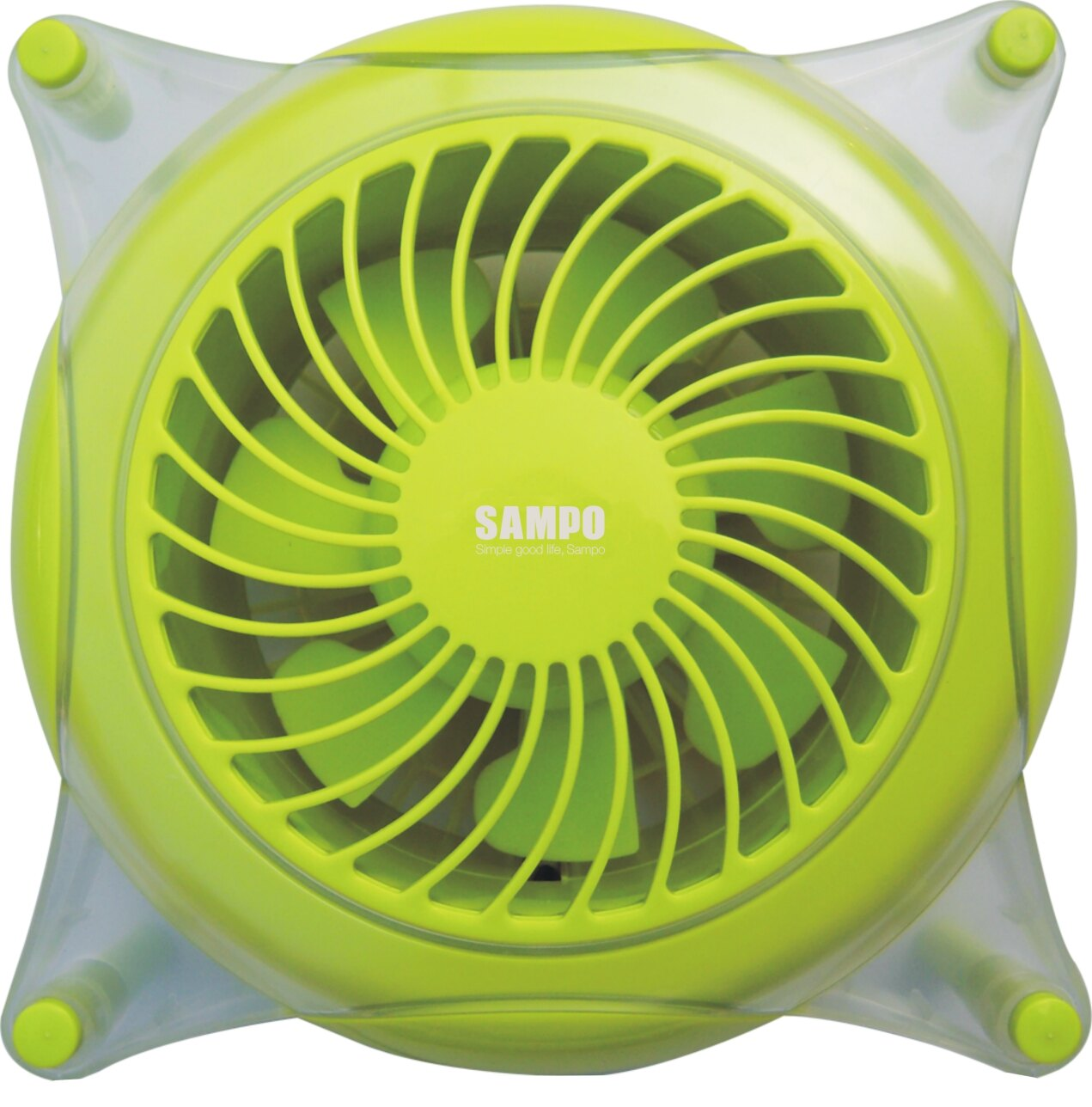 【SunEasy生活館】SAMPO 聲寶5吋造型桌扇