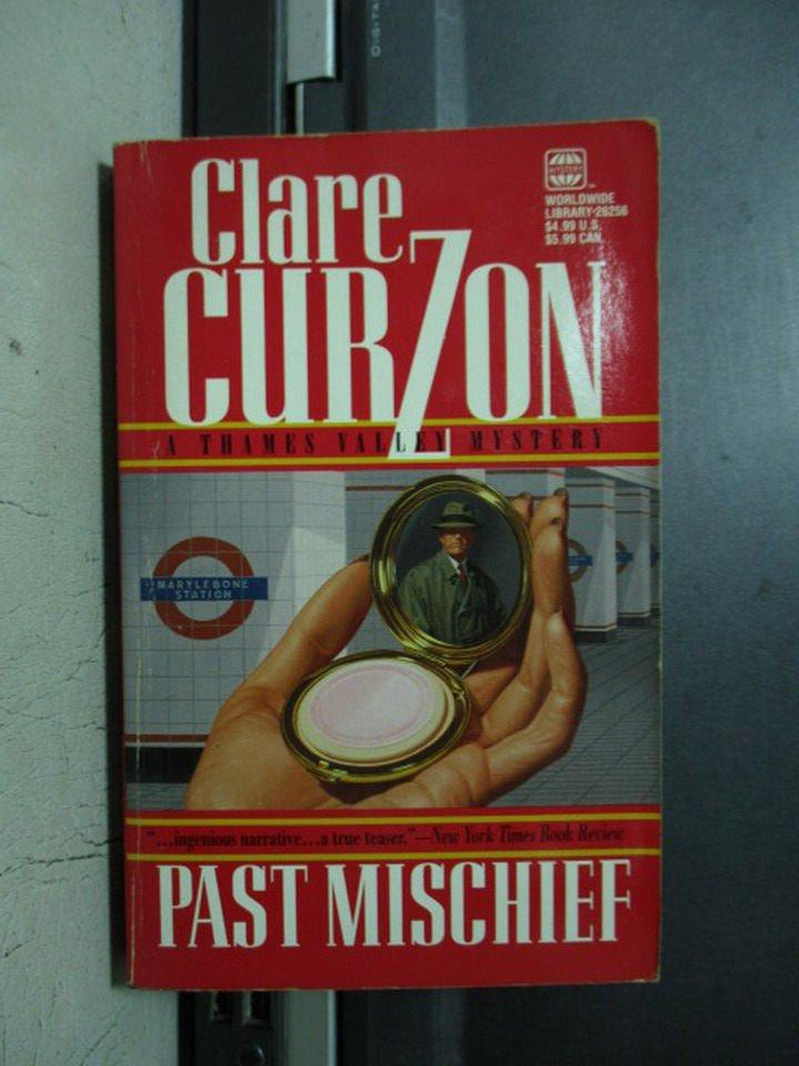 【書寶二手書T7/原文小說_OQE】Past Mischief_Curzon