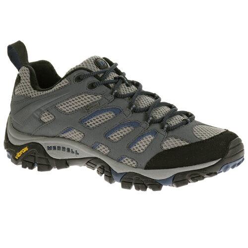 零碼特價 Merrell 防水透氣越野鞋/健行鞋/短筒登山鞋 MOAB GORE-TEX 男款 ML65269 藍灰