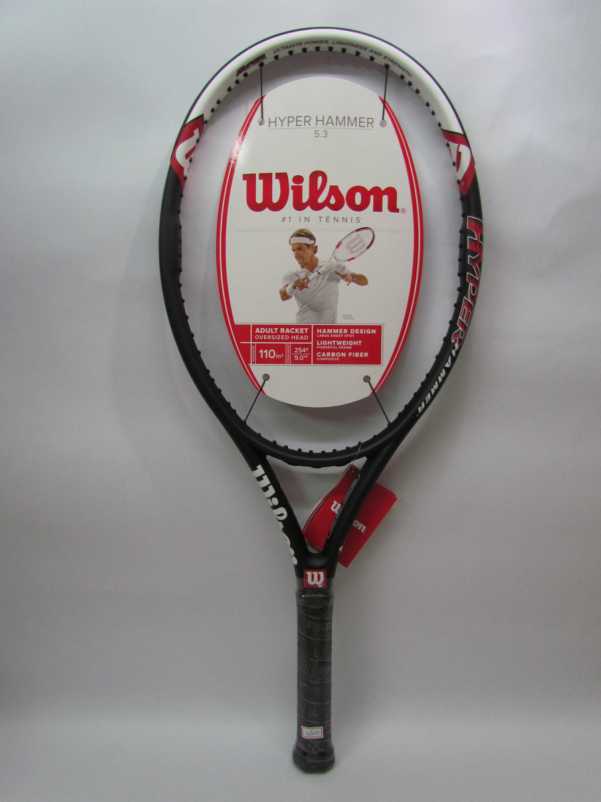 Wilson專業網球拍 Hyper Hammer 5.3(大榔頭)亞洲限定版