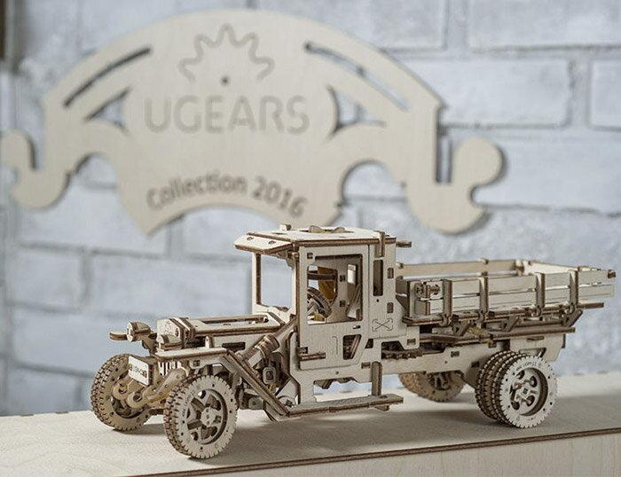 Ugears 自我推進模型 (Truck UGM-11 四輪驅動卡車) 2