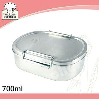 牛頭牌雅登不鏽鋼便當盒M號邊緣不捲邊-大廚師百貨