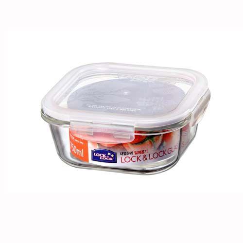 樂扣樂扣微波烤箱玻璃保鮮盒/便當盒方型750ml-LLG224-大廚師百貨