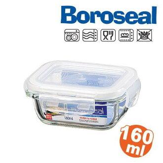 樂扣樂扣微波烤箱玻璃保鮮盒/便當盒長方型160ml-LLG413-大廚師百貨