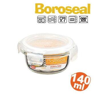 樂扣微波烤箱玻璃保鮮盒/便當盒圓型140ml-LLG811-大廚師百貨