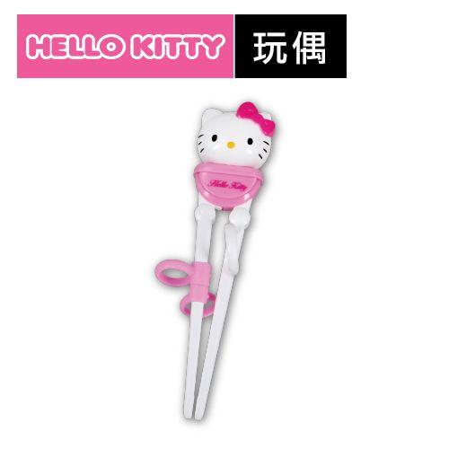 樂扣樂扣Hello Kitty玩偶幼童兒童學習筷子右手3~7歲LKT014-大廚師百貨