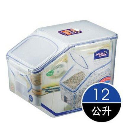 樂扣樂扣密封盒保鮮盒12L附量杯HPL510米箱米桶-大廚師百貨