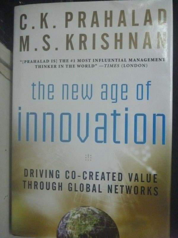 ~書寶 書T9/財經企管_ZBA~The New Age of Innovation: D