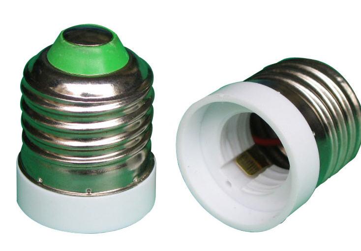 LED E27轉E17 燈座 轉接 X-LIGHTING