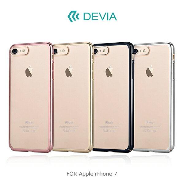 強尼拍賣~ DEVIA Apple iPhone 7   7 Plus 流金保護殼 電鍍