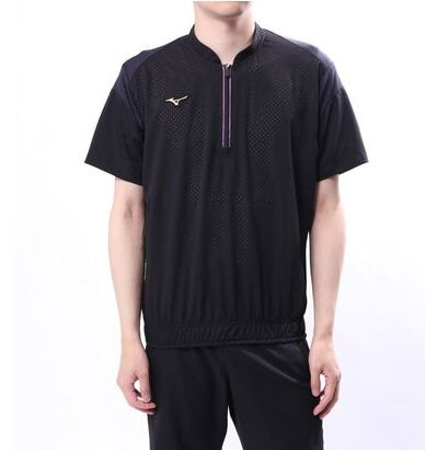 【登瑞體育】MIZUNO男款短袖棒球風衣 12JE8J8209