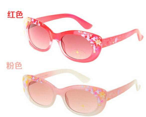 正版Disney迪士尼公主兒童太陽眼鏡寶寶太陽眼鏡墨鏡-女生款