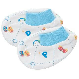 『121婦嬰用品館』PUKU 秋冬腳套(歡樂冬季) 藍 / 粉 0