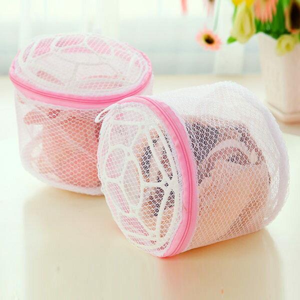PS Mall 內衣專用洗衣袋 折疊式文胸用護洗袋(帶支架) 【J021】