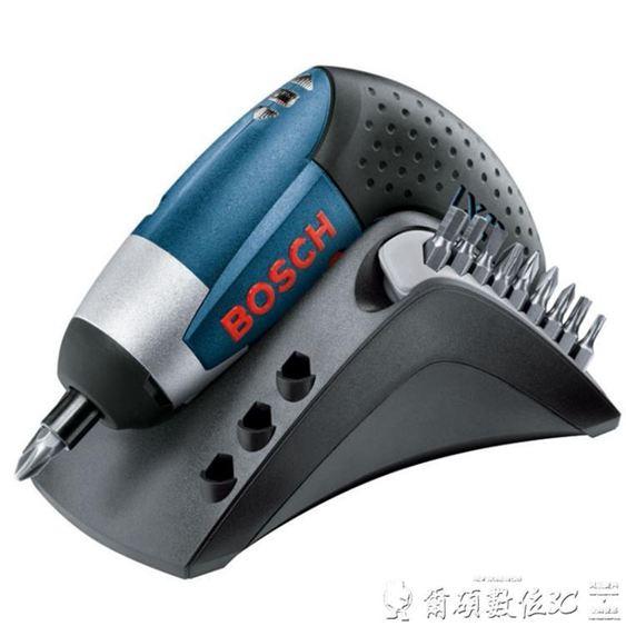 電動螺絲刀 原裝博世BOSCH電動工具3.6V鋰電充電式起子機 電動螺絲刀IXO3CJ 雙12購物節