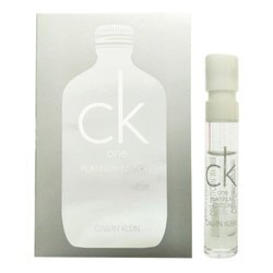 Calvin Klein one 白金未來中性淡香水限量版 1.2ml 針管《Belle倍莉小舖》28508 CK