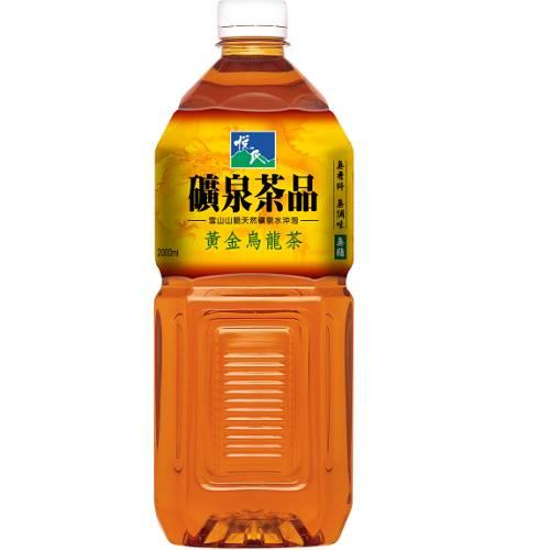 悅氏黃金烏龍茶(無糖)2L【愛買】