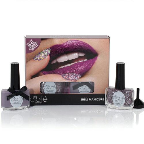【英國Ciate夏緹】Shell Manicure 繁星砂貝(Mermaid You Look 美人魚) -紫
