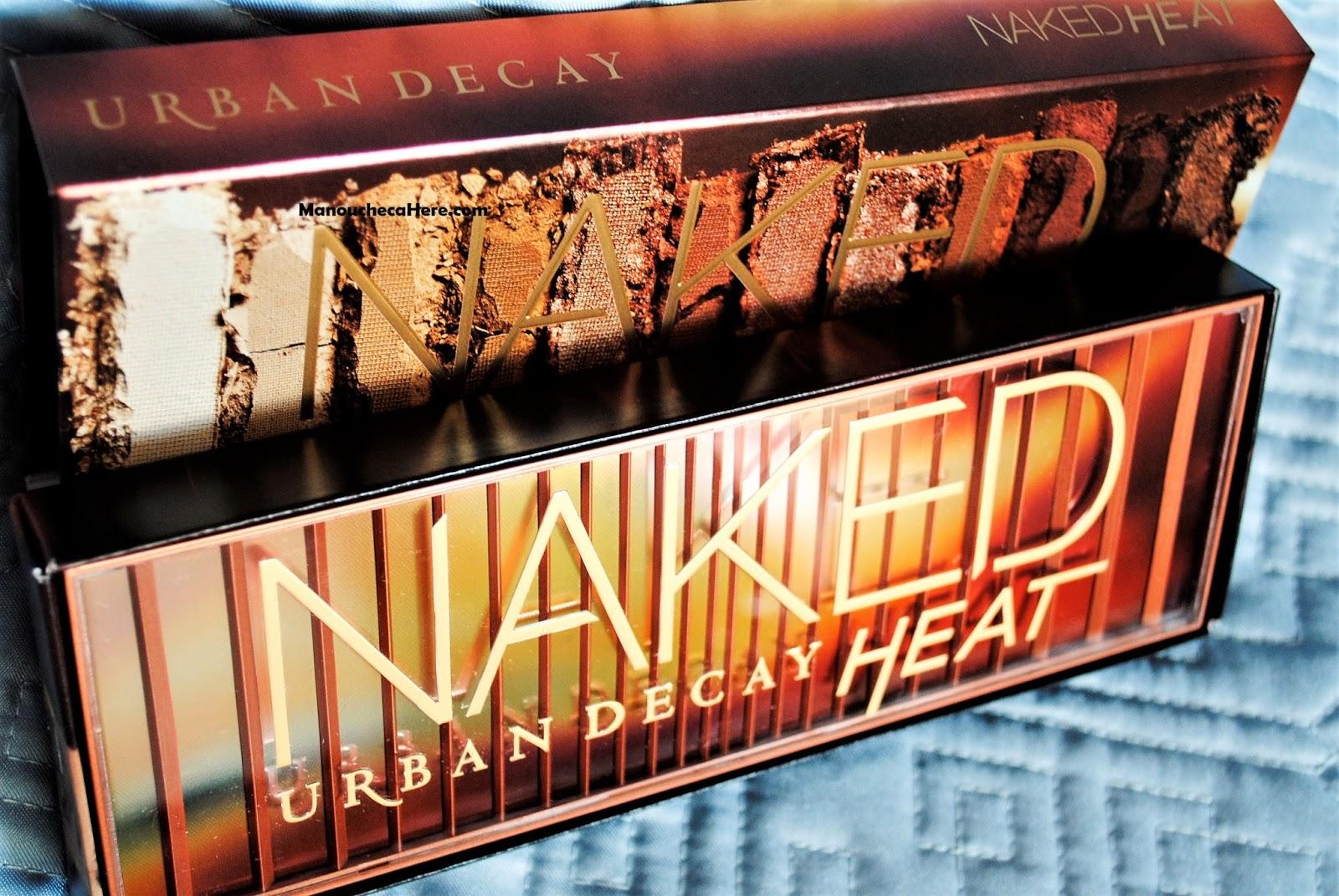 URBAN DECAY熾夏眼影盤Naked Heat Eyeshadow Palette 8