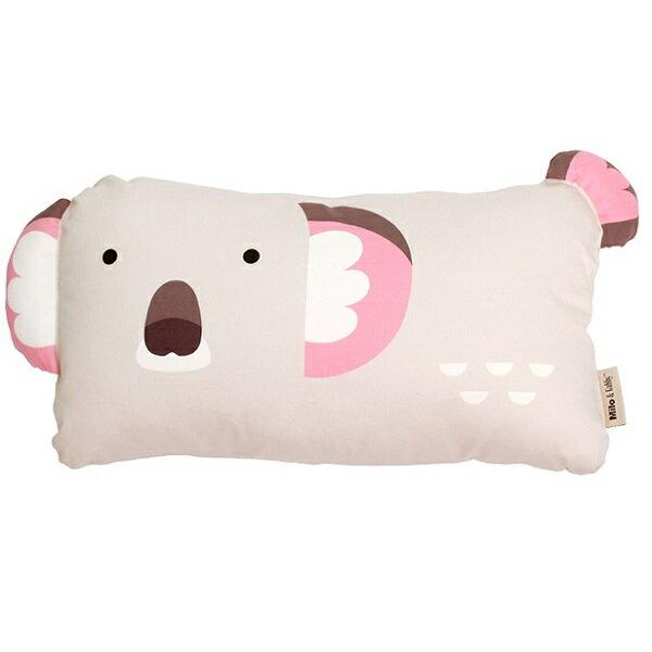 美國【Milo & Gabby】 動物好朋友-超柔軟mini防?天絲枕心+枕套組(OLIVE無尾熊)