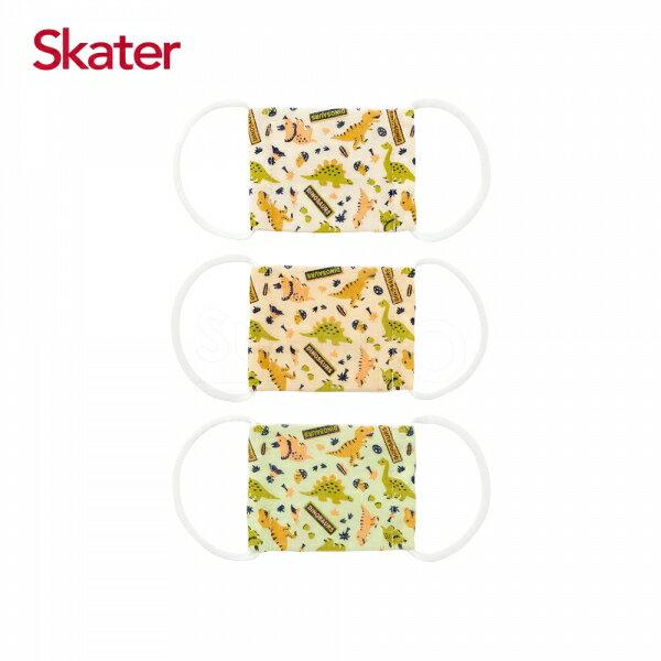 【SKATER】卡通圖案 幼兒紗布口罩 2-4歲