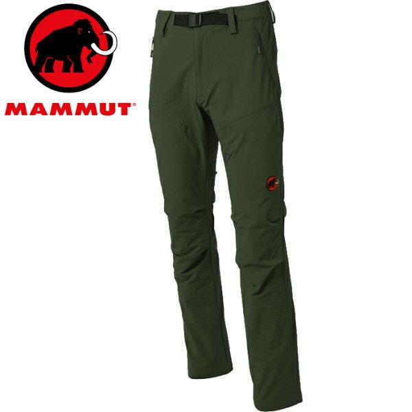 Mammut長毛象軟殼褲登山褲SOFtechTrekkers1020-097604960男款卡其亞版
