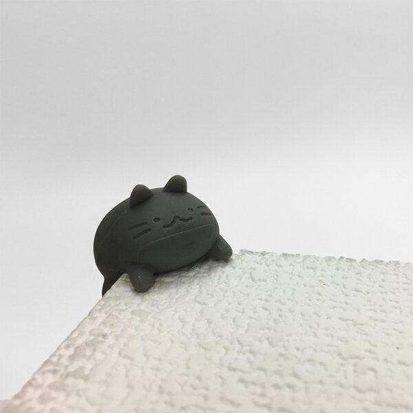 日本設計 - 角貓護套(黑)