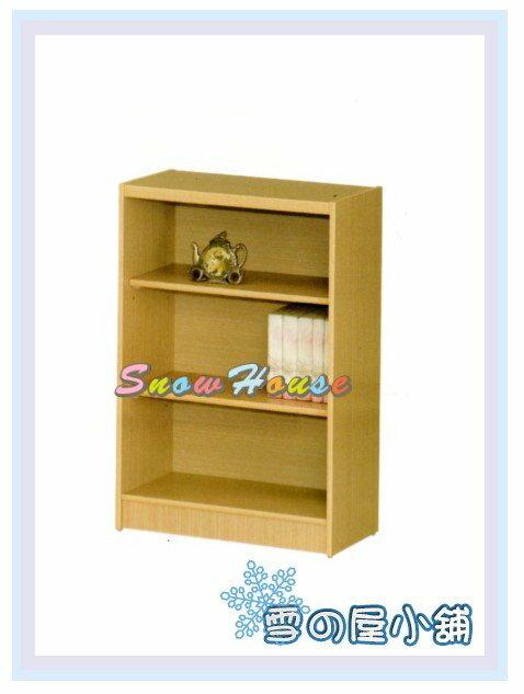 ╭☆雪之屋居家生活館☆╯AA554-05 B-01白橡木書櫃(美背式)/置物櫃/收納櫃/展示櫃/附活動隔板2片