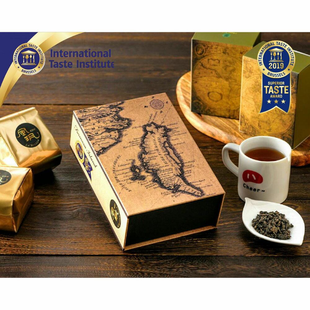 風玥茶研所│台灣高山炭香烏龍茶 禮盒-盒裝300g 0