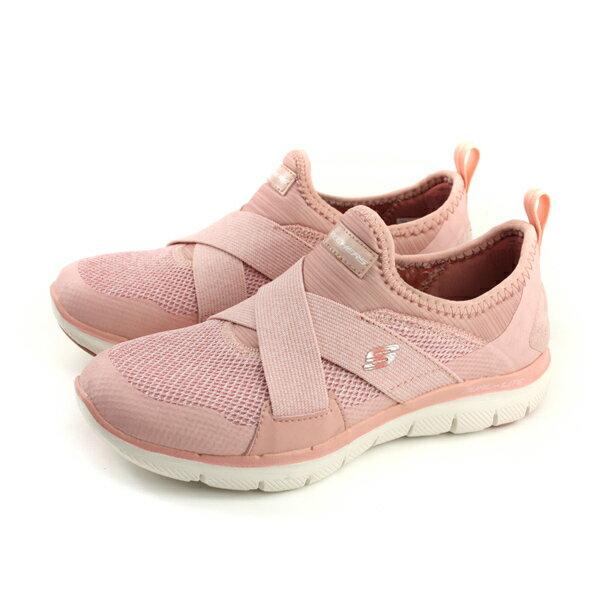 SKECHERS懶人鞋運動鞋女鞋粉紅色12752ROSno819
