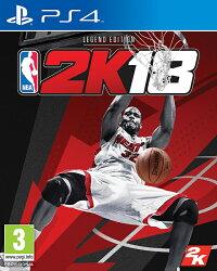 現貨供應中 中文版 [普通級] PS4 NBA 2K18 傳奇珍藏版