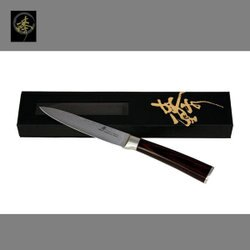 料理刀具 大馬士革鋼系列-水果刀 〔 臻〕高級廚具-DLC828-08