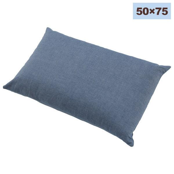 和風水洗純棉枕套 BL 50×75 NITORI宜得利家居 0