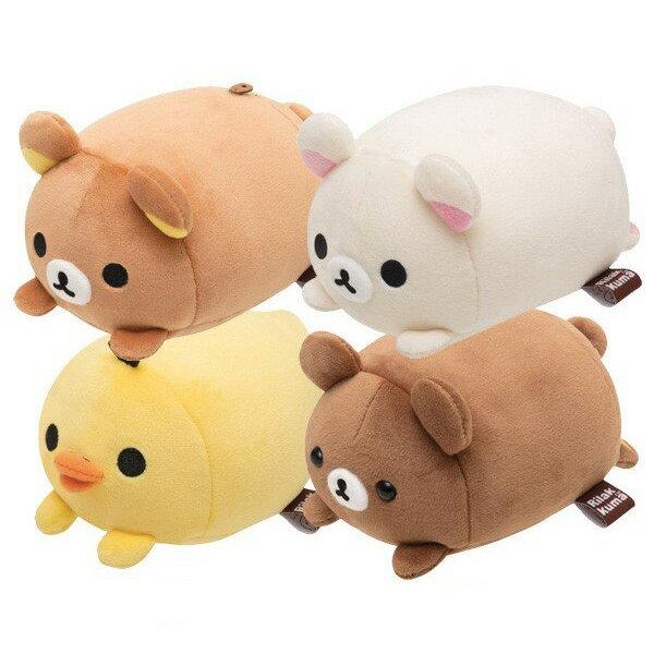 拉拉熊 疊疊樂娃娃 絨毛玩偶 麻糬觸感 懶懶熊 日本正版 該該貝比日本精品